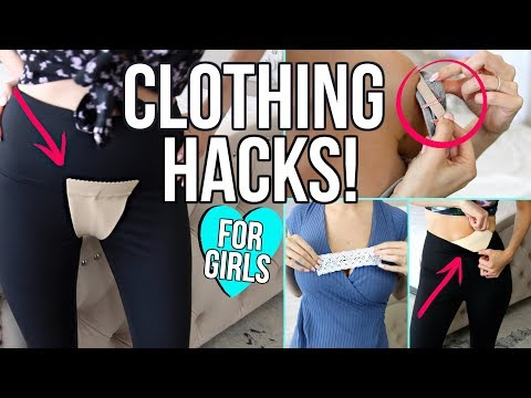 17 CLOTHING LIFE HACKS EVERY GIRL MUST KNOW!. http://bit.ly/2m1l79R