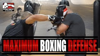 Boxing Defense Position for Maximum Coverage | Peekaboo and Philly Shell