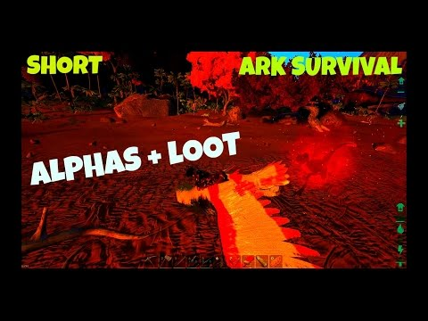 Alpha Raptor Locations, Killing, and Loot!  (Part 2) Ark Survival Evolved