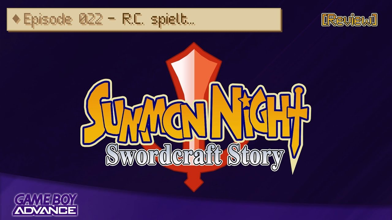 [Review] RC spielt... Summon Night   Swordcraft Story (GBA)