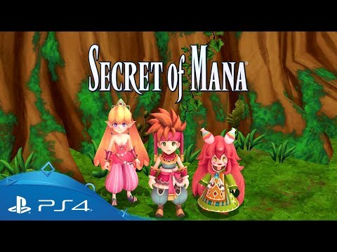 Secret Of Mana   Launch Trailer   PS4