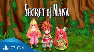 Secret Of Mana | Launch Trailer | PS4