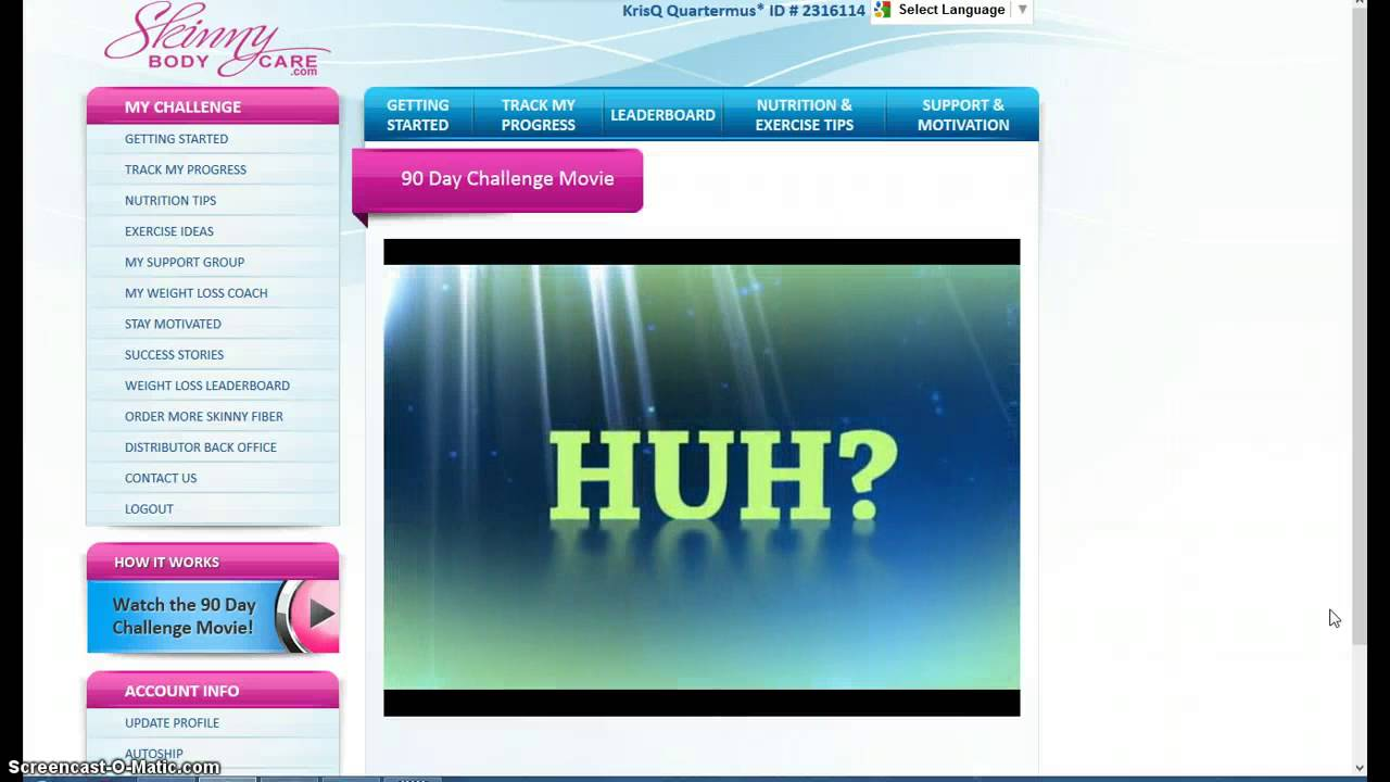 What Is The Skinny Fiber 90 Day Challenge