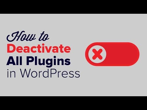 How to Desactivate All Plugins When Not Able to Access WP Admin