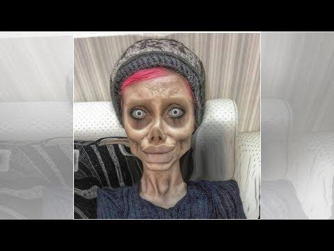 Пластика дала о себе знать. Иранская зомби-копия Джоли умерла?