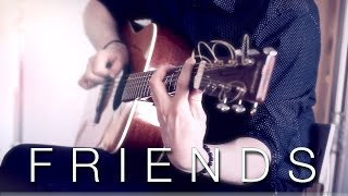 Marshmello & Anne-Marie - FRIENDS - Fingerstyle Guitar Cover // Joni Laakkonen