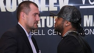 Sergey Kovalev VS. Jean Pascal OFFICIAL Press Conference in New York City! (FULL)