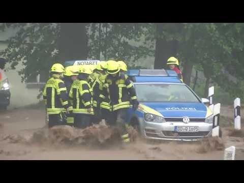 Extreme Trockenheit und Starkregen: Deutschland erlebt extreme Wettersituationen