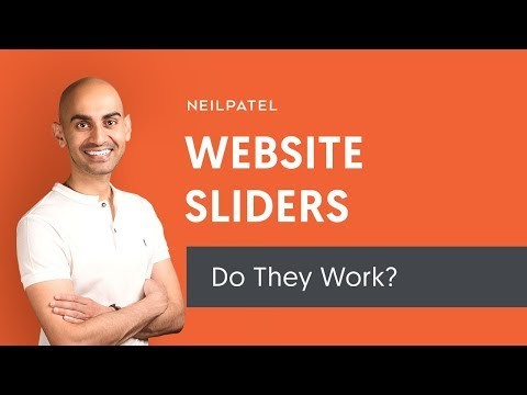 Should You Use Sliders on Your Website? Try THIS Online Marketing Technique