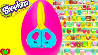 Shopkins Season 3 Snippy Play Doh Surprise Egg and Limited Edition Hunt
