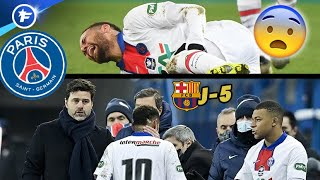 Tout le PSG retient son souffle après la sortie sur blessure de Neymar | Revue de presse