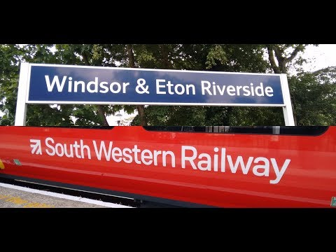 Full Journey on South Western Railway (Class 707) from London Waterloo to Windsor & Eton Riverside