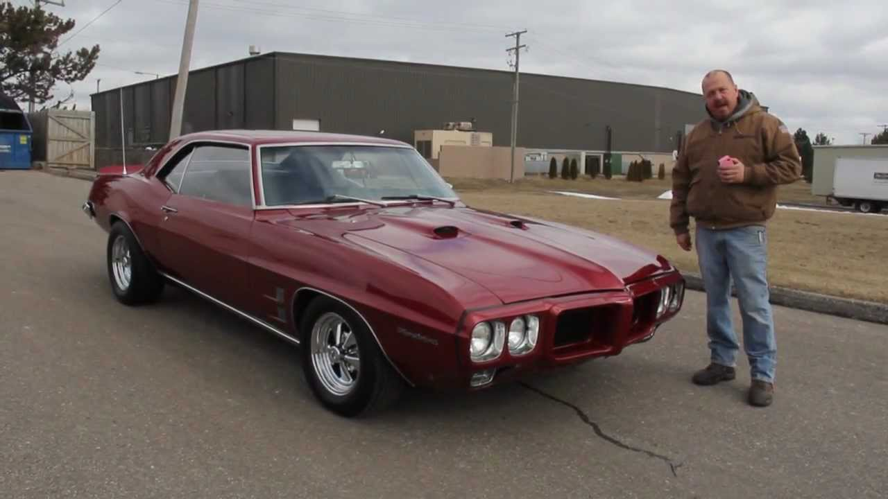 1969 Pontiac Firebird Classic Muscle Car For Sale In Mi