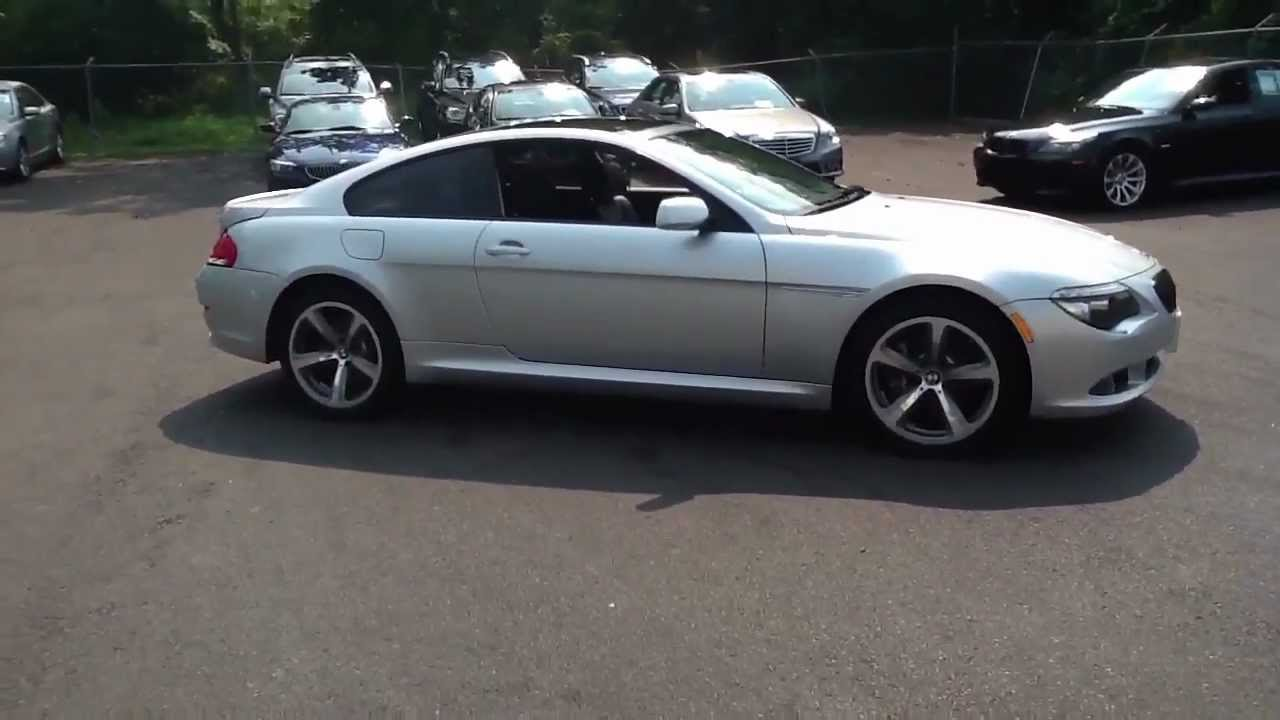 bmw for sale 2008 bmw 650i coupe navigation sport youtube. Black Bedroom Furniture Sets. Home Design Ideas
