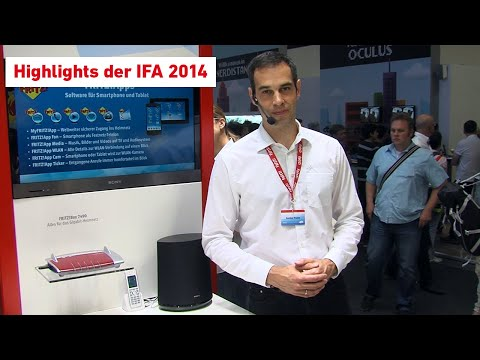 AVM-Messehighlights der IFA 2014
