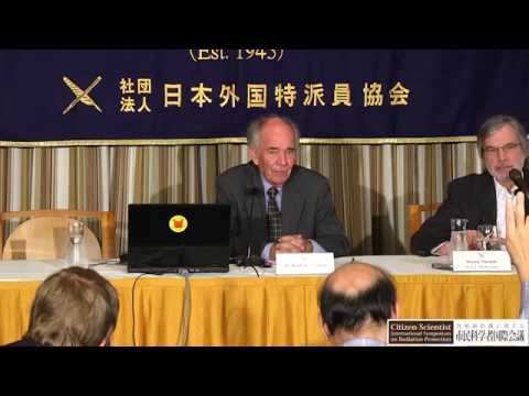 Press Conference: Keith Baverstock, Former WHO Advisor for Radiation and Public Health