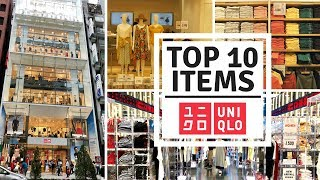 Top 10 Things to Buy at Uniqlo | JAPAN SHOPPING GUIDE
