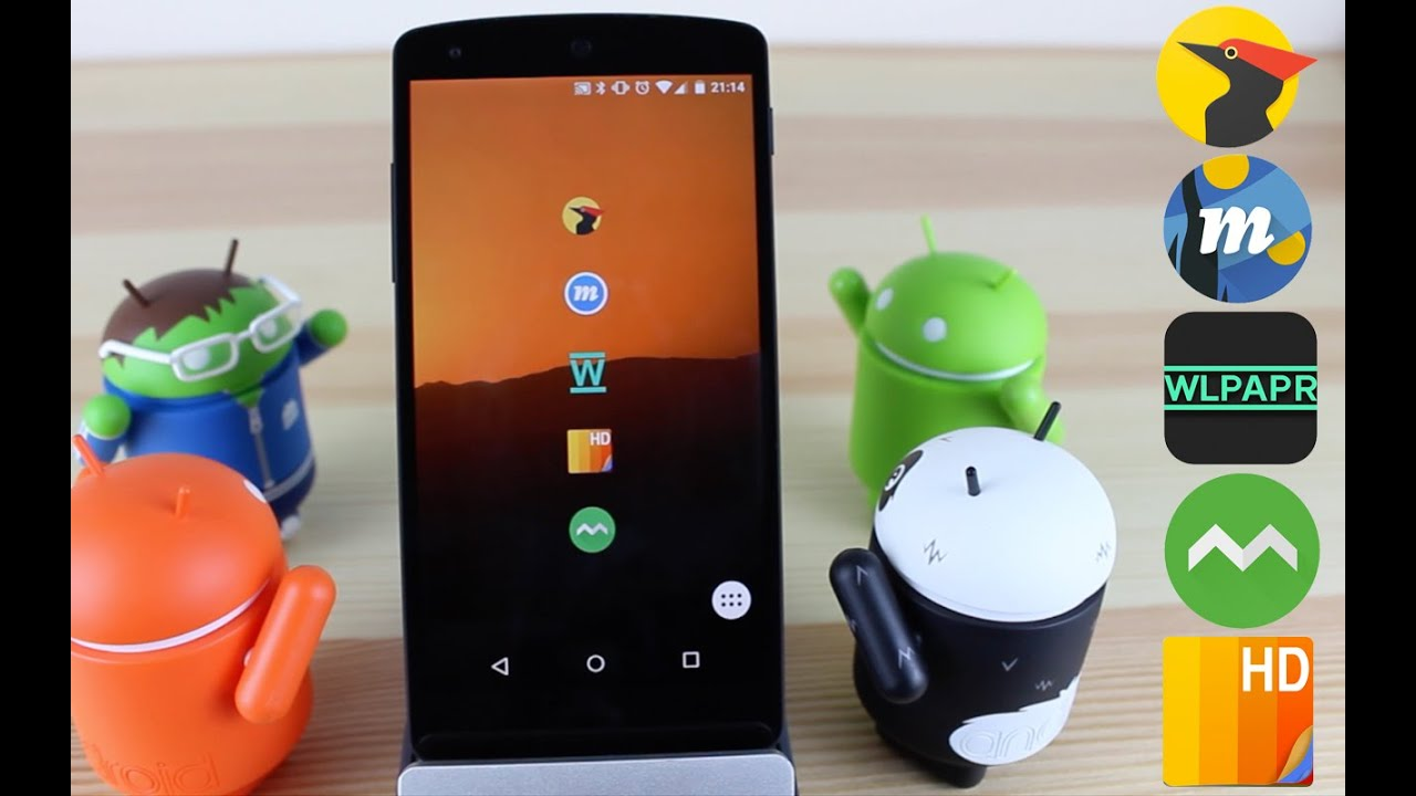 Top 5 Android Wallpaper Apps