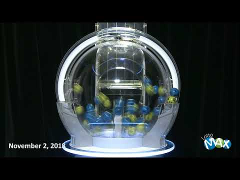 Lotto Max Draw November 2, 2018