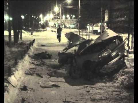 Магадан АвтовокзалАвария