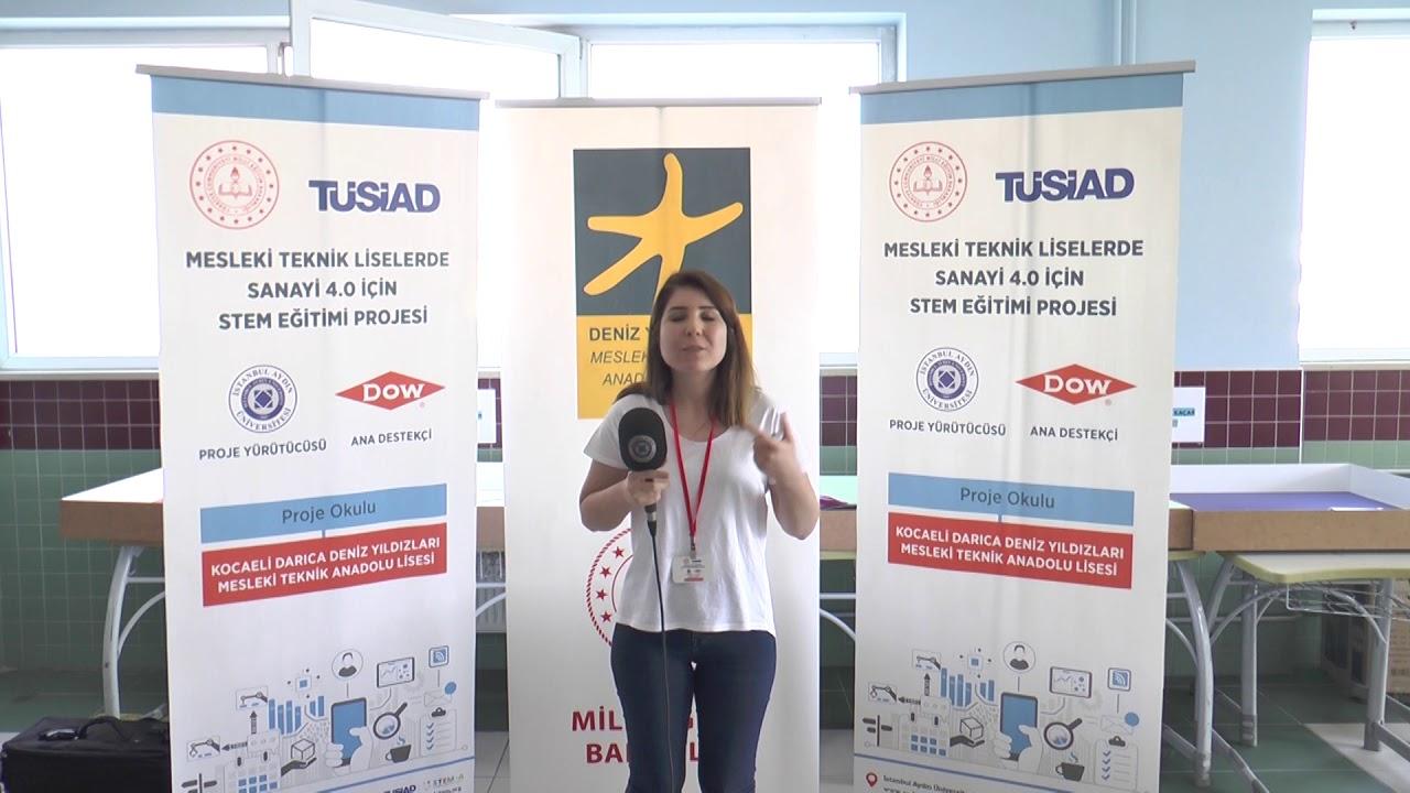 TÜSİAD Mesleki ve Teknik Liselerde Sanayi 4.0 için STEM Eğitimi Projesi Öğretmen Görüşleri