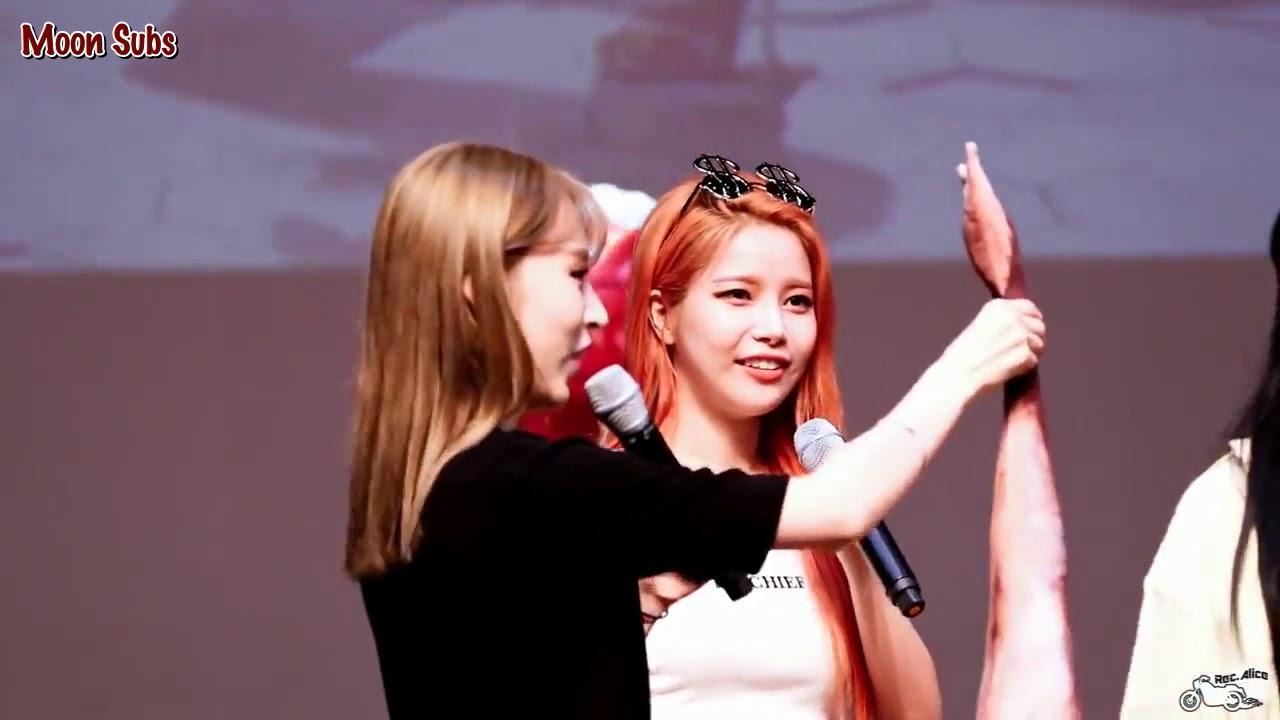 [ENG SUB] Mamamoo's 5th Member: Moonbyul's Fish