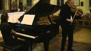 Shostakovich Viola Sonata 2nd Movement - Silverthorne - Tarantino