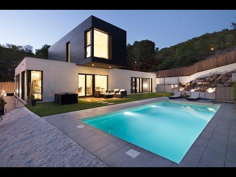 Instalaci n casa prefabricada cube de 100 m2 con cubier - Casas cube opiniones ...