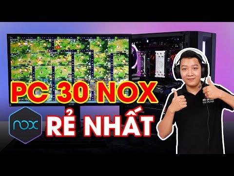 Sở Hữu Cấu Hình Cân 30 NOX Giả Lập Rẻ Nhất | Dual XEON E5 2678 - 64GB RAm - RX 570 8GB