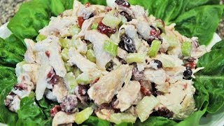 Homemade Chicken Salad For A Sandwish Or A Wrap Recipe By Mommy Is A Chef Episode 79