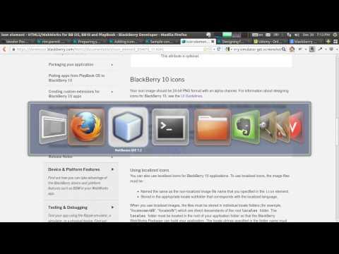 BlackBerry 10 HTML5 Apps 21 - Preparation For The BlackBerry World