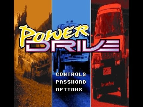 SNES Longplay [473] Power Drive