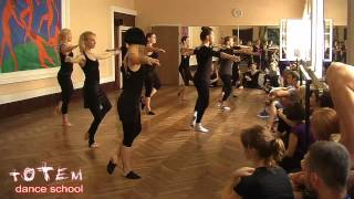 Открытый урок TDS 08/06/2013 - contemporary dance Andrew Zubchevskiy