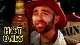Coyote Peterson Gets STUNG by Spicy Wings | Hot Ones thumbnail