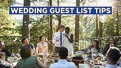 The Dos and Don'ts of Wedding Guest Lists - HGTV