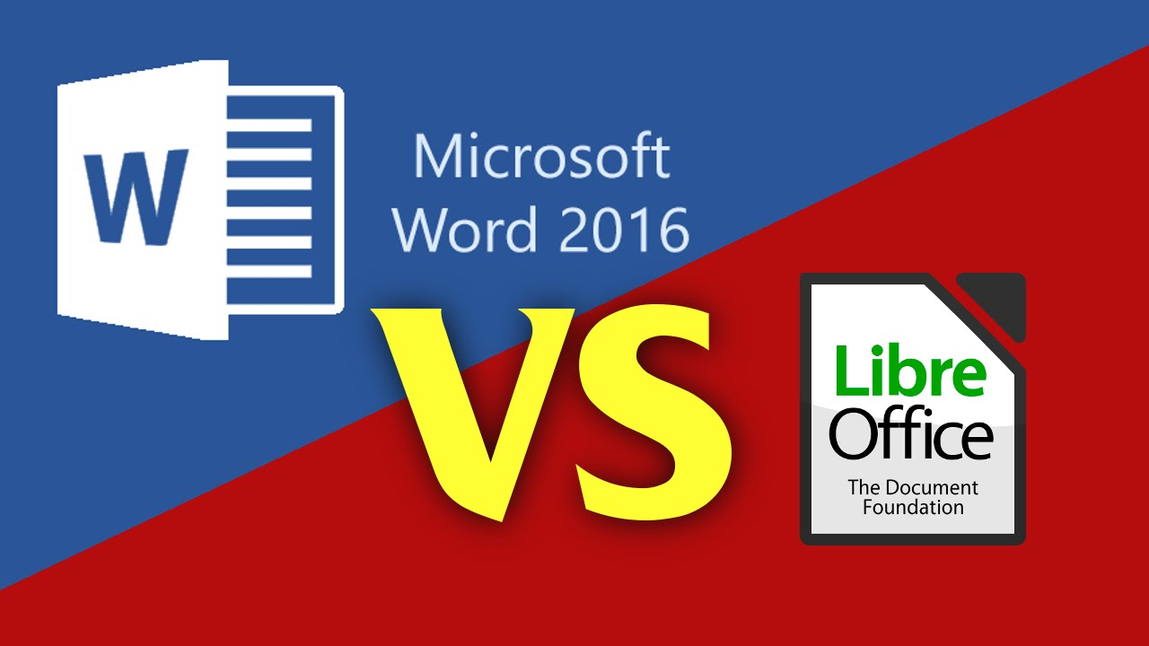 LibreOffice vs Microsoft Office 2016 | App Review for 2017 - 2018