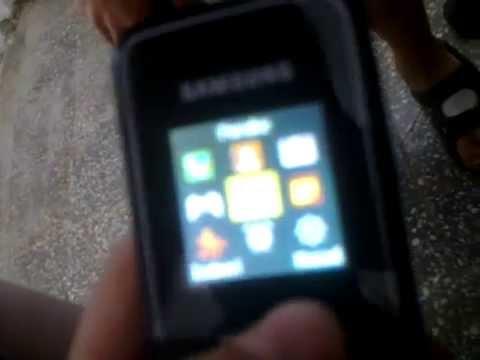 Samsung e1050 test mobitela