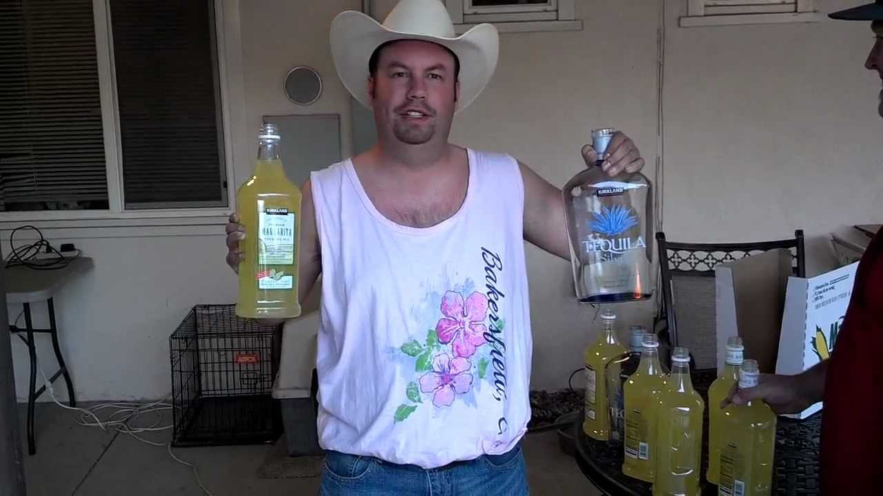 Redneck 10 Gallon Margarita Machine Using A Garbage