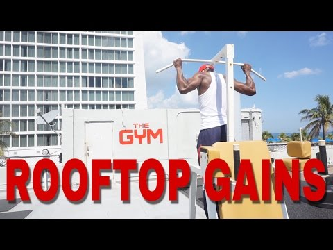 Rooftop Workout | Fort Lauderdale Beach