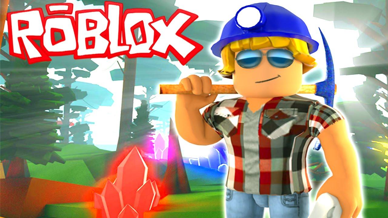 roblox games mining simulator