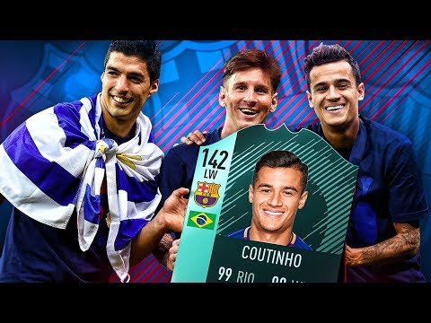 87 INFORM BARCATINHO! THE BARCELONA COUTINHO TRANSFER SQUAD! FIFA 18 Ultimate Team