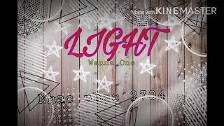 Light-Wanna One(nhạc K-pop)