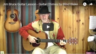 Acoustic Blues Guitar Lessons - Death Letter Riff - http://play-blues-guitar.eu