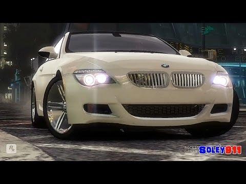 GTA 4 M6 vs 300C vs E500 coupe !! ENB series Extreme Graphics [ Car mods + RealizmIV + VisualIV ]