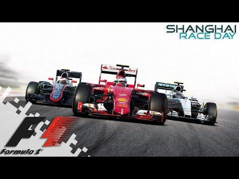 F1 2016 - SHANGHAI - Race Day!