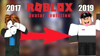 "Roblox Avatar Evolution."" 2017 to 19""| ROBLOX|"