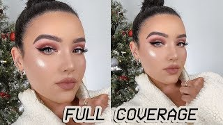 MY WINTER FULL COVERAGE FOUNDATION ROUTINE: NO CAKE FACE HERE!