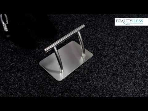 Beauty4Less Barber And Hairdressing Salon Footrest - Stainless Steel BREST