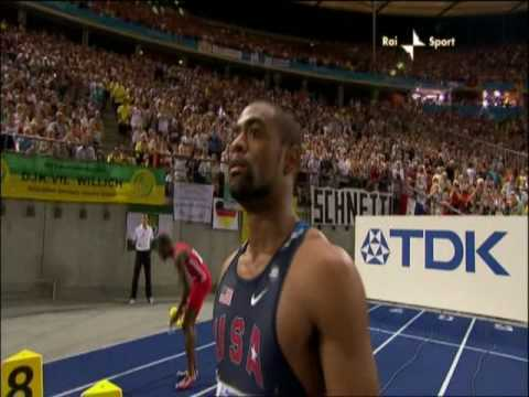 Finale 100 m - Mondiali Berlino 2009 - Usain Bolt   WR 9.58