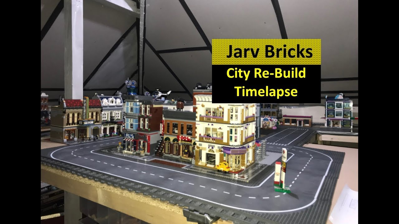 LEGO City Time lapse Re-build Update #29